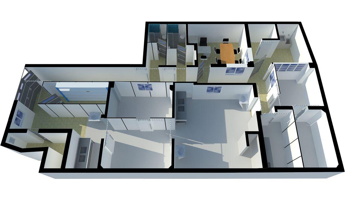 Proyecto: Diseño 3D de planta de procesamiento de frutas - Frutos del Camino.