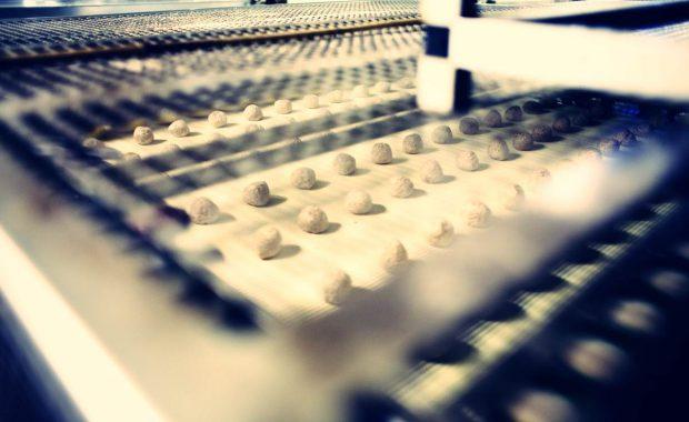 Filtro de aire en la producción de alimentos